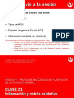 U4_CL21_Estrés Oxidativo e Inflamación