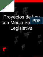 Proyectos de ley con media sanción