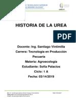 Historia de La Urea