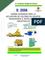 Norma _ Estándar Código de Colores Aplicacion de Colores en Equipos, Maquinarias e Instalaciones Industriales