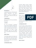 Leaflet for Dd1 Assgmnt