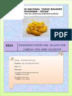 2do Informe de Laboratorio de Tecnologia de Secado Terminado y Entregado
