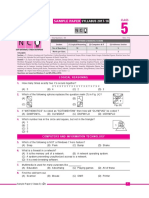 1. Sof - Nco Sample Paper Class 5
