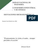 DESVIACIONES MICROGEOMÉTRICAS