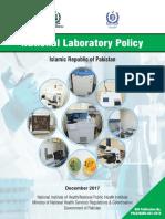National Laboratory Policy