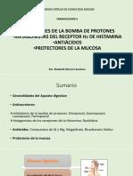 Clase 14 Antisecretores, Antiácidos y Protectores