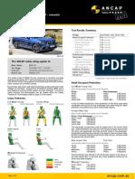 G01 BMW X3 ANCAP