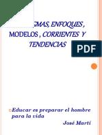 enfoques pedagogicos
