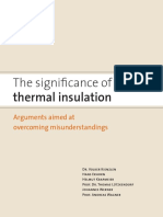 The Significance of Thermal Insulation