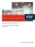 Bain Brief Digital Strategy for a b2b World