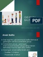 KONSEP DAN PRINSIP GIZI PADA BALITA'19-1.ppt