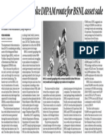 Govt unlikely to take DIPAM route - Business Standard.pdf