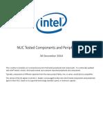 Nuc Component Peripheral Compatibility