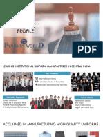 Fashion World Business Profile