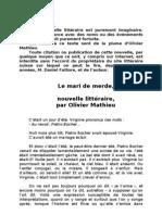 Nouvelle d'Olivier Mathieu Un Mari de Merde