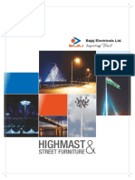 Highmast and Street Furniture Catalogue