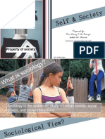 Sociological View of Self-handout PDF