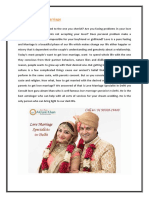 Love Marriage Specialists in Delhi