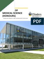 BMedSci Hons Booklet-2020 Final
