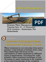 Strategic Water Management(PPT)