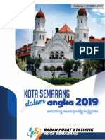 Kota Semarang Dalam Angka 2019
