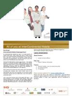 InterContinental Maldives - Career Opportunities 27 Sep19
