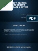 standard direct throughput.pptx