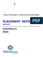 Placement Report - NSDC 578A56