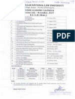 Academic Calendar 27