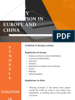 Sharing Economy Regulation in Europe and China (1)