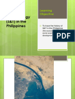 Lect2 S T History in the Philippines