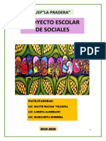 Proyecto Escolar De saberes Ancestrales de 2DO GRADO 2019