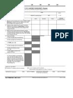 DA 5501 - Body Fat Content Worksheet (Female)