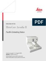 Leica Biosystems Histocore Arcadia h User Manual