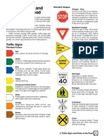 Traffic Signs and Rule of the Road