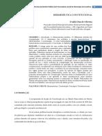 O Relativismo e a Hermeneutica Constitucional.pdf