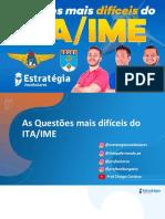 Webinário ITA IME - Questões Mais Difíceis