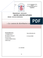 Distribution Groupe Éxposé