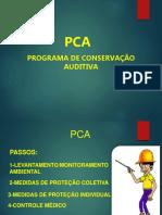 Treinamento PCA