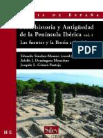 Protohistoria y Antiguedad de La Pen. Iber. Vol.1