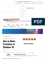 How to Make Partitions in Windows 10 - Windows 10.pdf