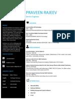 Praveen.new CV