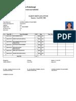 Cetak Kartu Rencana Studi - Portal Akademik