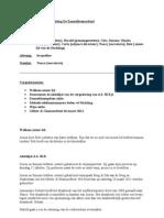 Notulen Vergadering Stichting de Zonnebloemschool Dd 11-10-2010
