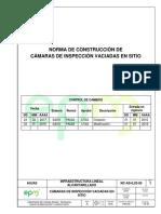 CÁMARAS DE INSPECCIÓN VACIADAS EN SITIO (EPM)