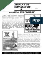 074-La Gasolina Sus Peligros