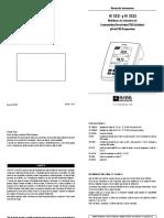 HI 5521 y HI 5522 Medidores de Sobremesa de Conductividad_Resistividad_TDS_Salinidad_ Ph_mv_ise_temperatura