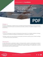 Herramientas Analíticas Aplicadas a La Gestión de Riesgo y Toma de Decisiones Con Risk Simulator Hector