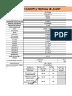 Especificaciones Tecnicas Del Scoop Completo