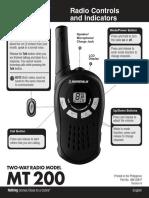 microTALK Mt200 user manual